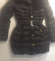 Mayo Chix S-es fekete téli kabát