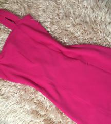 H&M elenk pink bodycon ruha