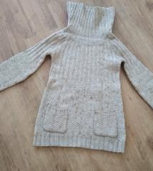 XS-es drapp kötött Yessica pulóver