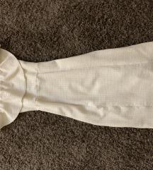 Zara alkalmi fehér nyári ruha elegáns