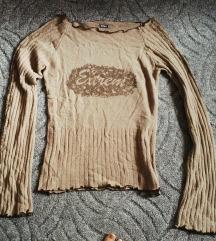 Világosbarna pulcsi olcsón eladó