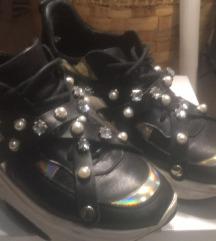 37-es Eva Minge bő cipő sportcipő