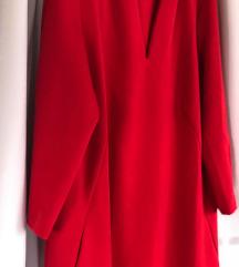 Elegáns piros ruha