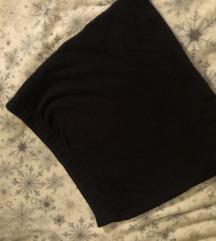 Fekete feszülős szoknya