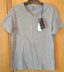 Új, címkés, GAS, szürke, rövid ujjú férfi póló