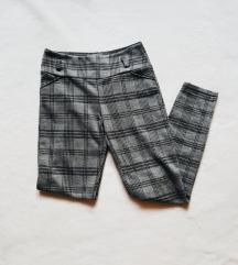 Made in Italy szürke kockás nadrág XS/S