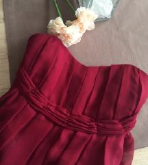 Bordó maxi ruha