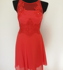 Olasz piros alkalmi ruha