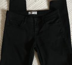 MANGO fekete PATY nadrág