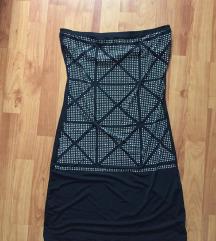 pánt nélküli strasszos ruha