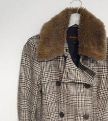 Átmeneti kockás kabátka