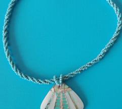 Gyöngyös, kagylós nyaklánc
