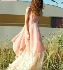 Useunused pink púder ruha (ÚJ)