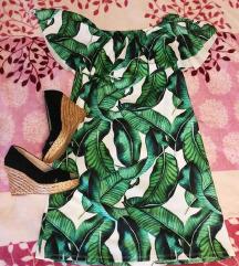 Levél mintás ruha
