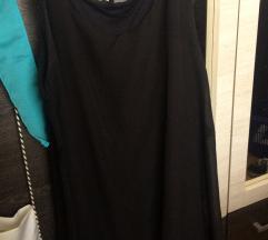Nyári laza fekete ruha