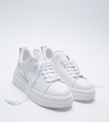 Zara ÚJ 36-os BŐR cipő