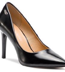 Fekete magassarkú cipő Jenny Fairy