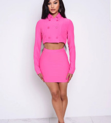 Pink Cher mini szoknya, skirt S