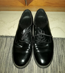Deichmann fekete lakkcipő