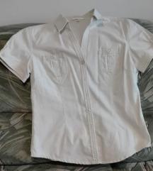 Törtfehér gombos vászon ing