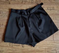 H&M - Fekete szatén nadrágszoknya - NINCS PK