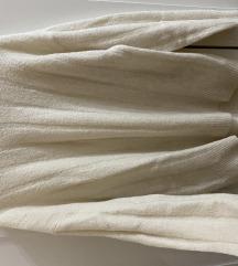 H&M bézs színű pulóver