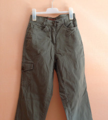 Katonai stílusú vintage nadrág