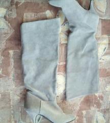 Hasított bőr csizma
