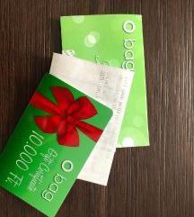 O Bag ajándékkártya - 10.000Ft értékben