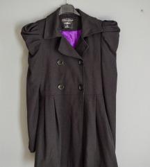 Gyönyörű fekete vintage kabát