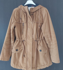 Barna téli kabát