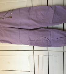 Bershka 34-es lila nadrág