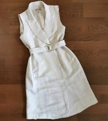 H&M lenkeverék ruha XXS XS