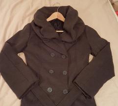 Bőrkabát vásár - Szürke hasított bőr kabát S-M 741b3256f8