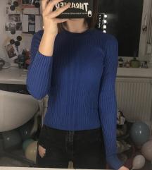kék bordázott fölső