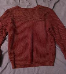 XXS bordó kötött pulóver(használt)