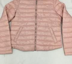 Steppelt púderrózsaszín női kabát dzseki új