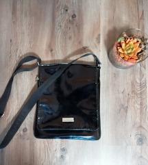 Szuper fekete műbőr oldaltáska válltáska táska