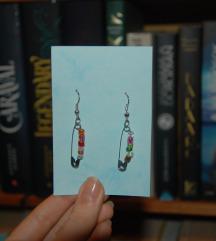Biztosítótűs fülbevalók gyöngyökkel