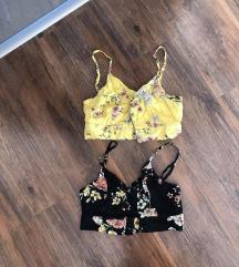 Új! Pull&Bear virágos nyári toppok
