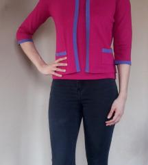 Gyönyörű pink kötött szett pulóver póló