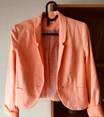 H&M-es barack színű blézer