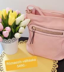 Púder rózsaszin táska
