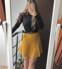 ZARA mustársárga szoknya
