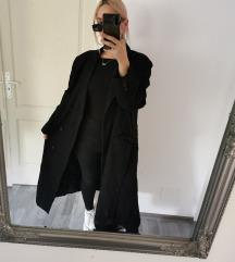 Vintage oversized maxi kabát M/L 🖤