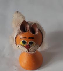 Retro macskás dísztárgy - csere vagy 100 Ft