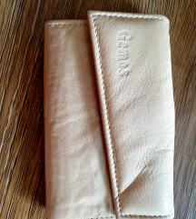 Vajbőr pénztárca