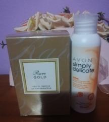 Rare gold parfüm+intim lemosó