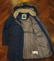 Újszerű sötétkék Budmil női kabát