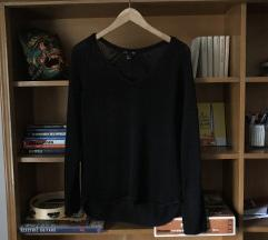 H&M fekete pulóver, S